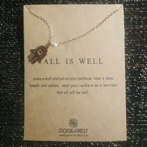 All Is Well Gold Dipped Charm Necklace